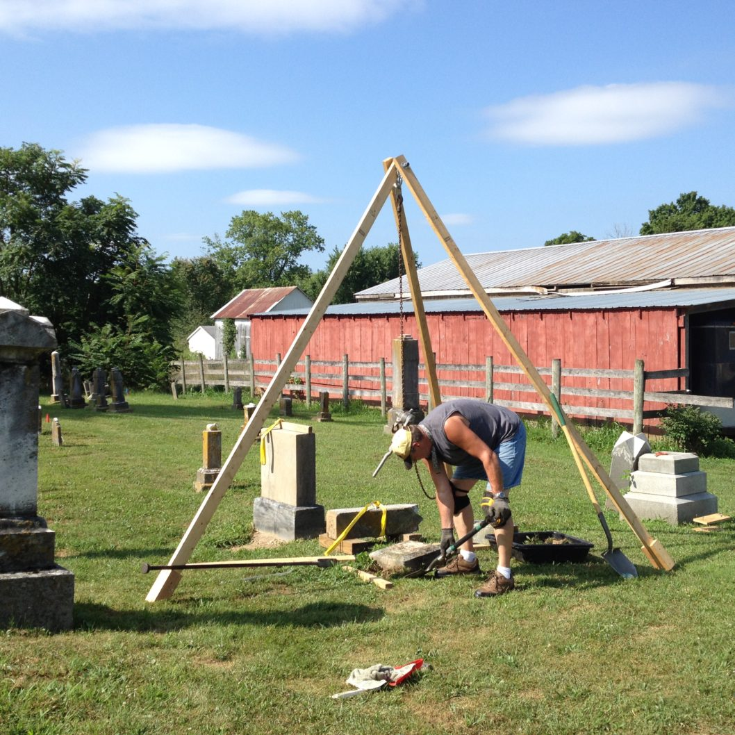 Cemetery conservation and preservation project at Heidelberg United Church of Christ takes patience, heart and muscle. post thumbnail image